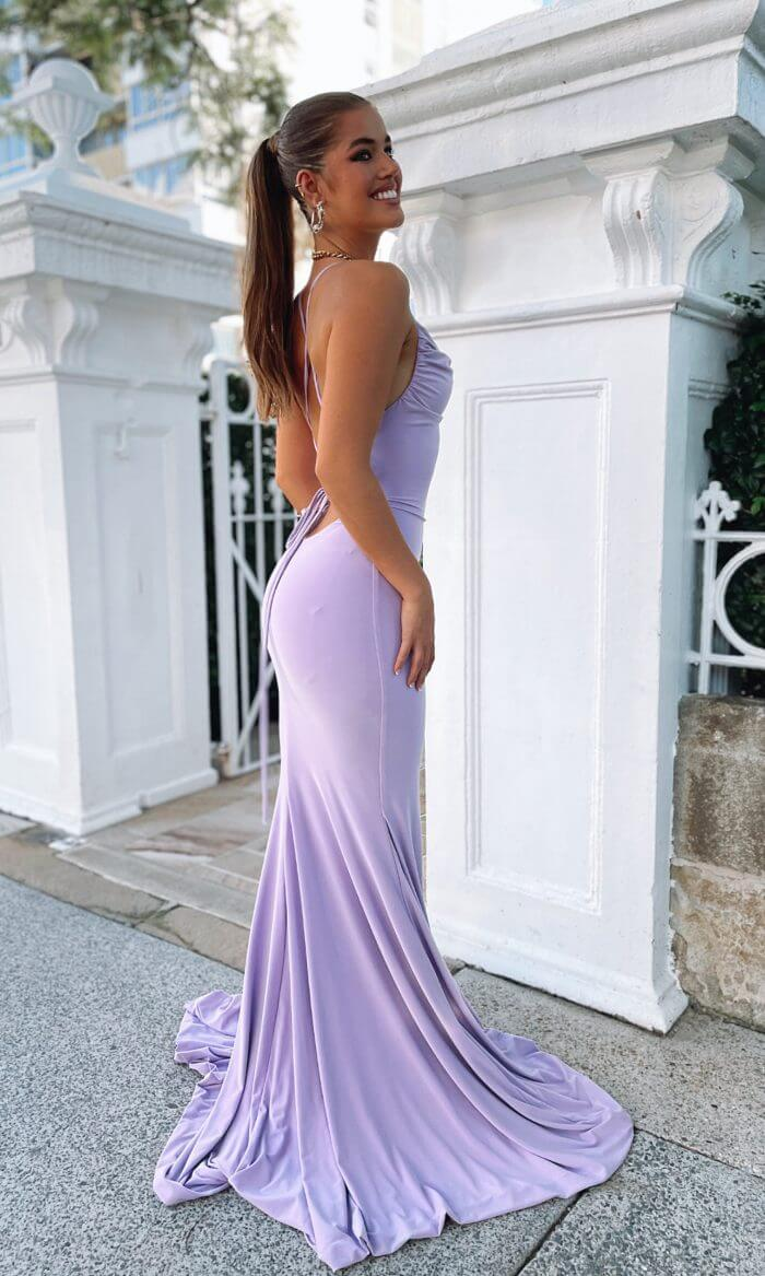 ASHLEIGH JERSEY GOWN