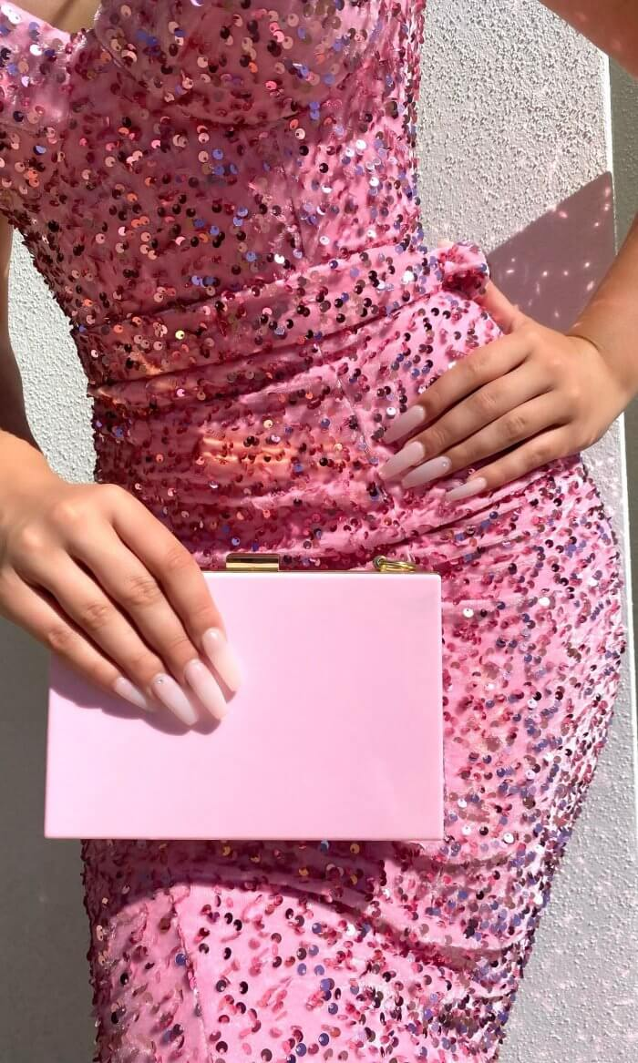 CANDY CLUTCH PINK